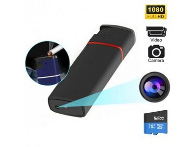 Camera Full HD 1080P ngụy trang bật lửa K6