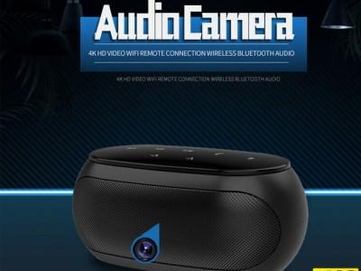 Camera ngụy trang loa nghe nhạc bluetooth Wifi HD 4K