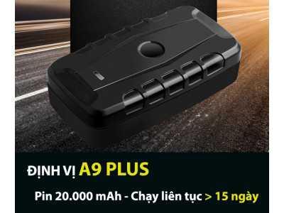Định vị A9 Plus - Dòng không dây PIN khủng 20.000 mAh