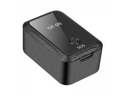 Thiết bị định vị GPS, nghe lén, ghi âm có đế nam châm siêu dính GF-09
