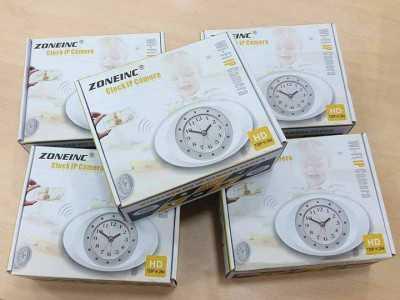 Đồng hồ camera để bàn wifi
