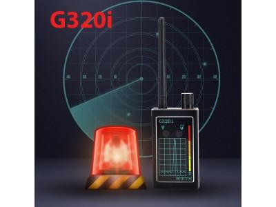 Máy phát hiện camera quay lén, thiết bị định vị GPS, máy nghe lén G320i mới nhất hiện nay