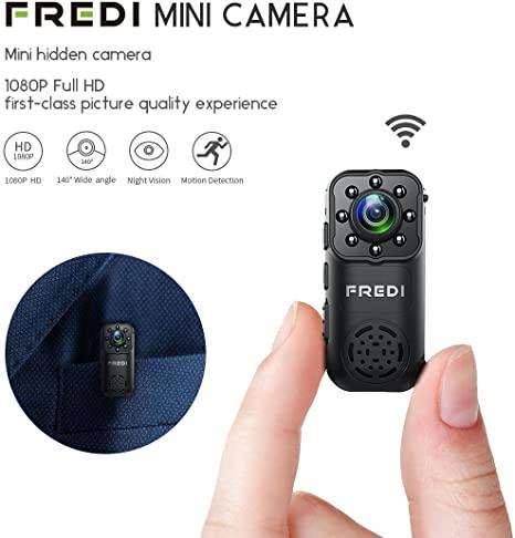 Camera siêu nhỏ Wi-Fi không dây HD Mini 1080P FREDI