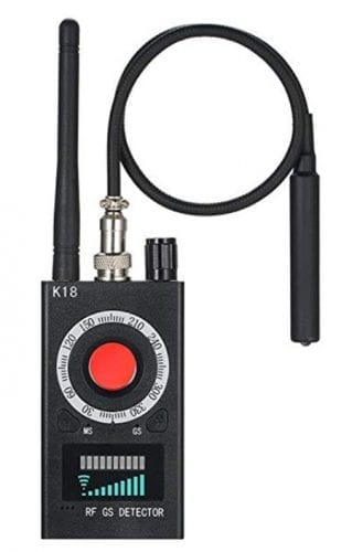 máy phát hiện camera k18
