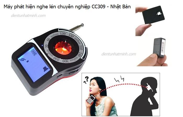 máy phát hiện nghe lén cc309